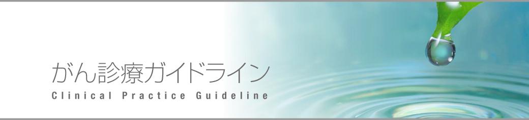 がん診療ガイドライン | 日本癌治療学会